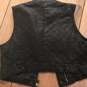 rag & bone Jackets & Coats - Rag & Bone Leather Vest